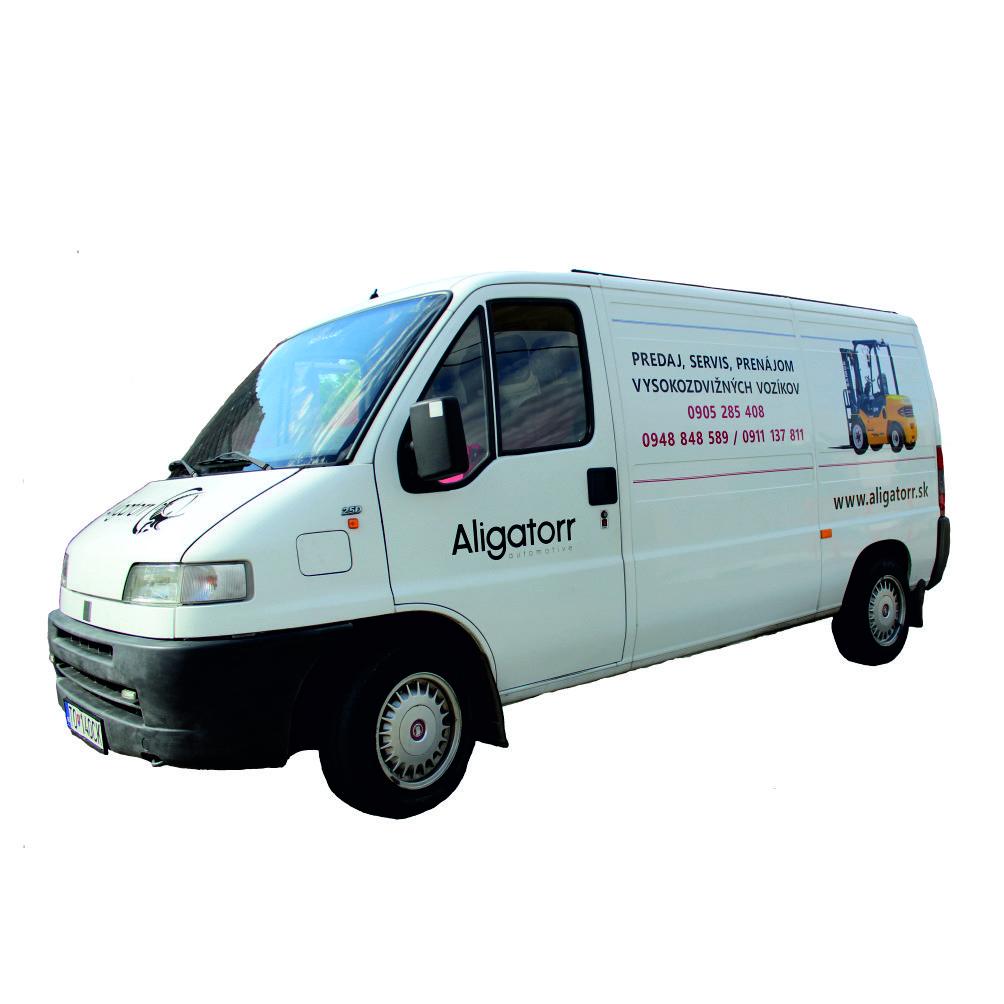 servisné vozidlo Aligatorr Automotive