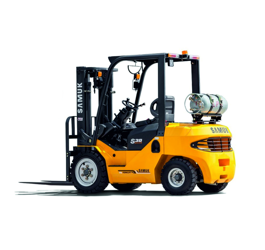 Vysokozdvižný vozík Samuk_benzín/LPG_1.5 - 3.5 t_aligatorr.sk