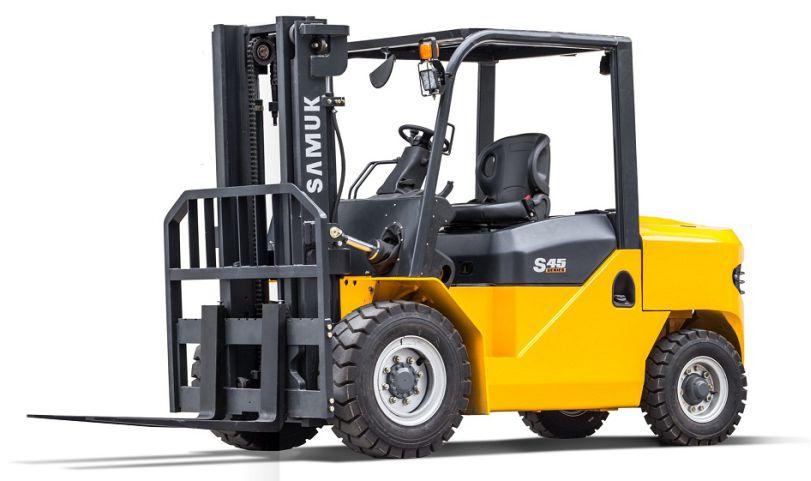 Vysokozdvižný vozík Samuk_diesel_4-5tmini
