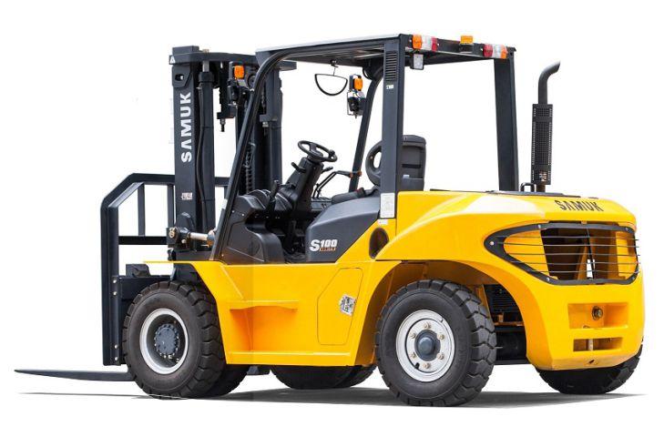 Vysokozdvižný vozík Samuk_diesel_10t