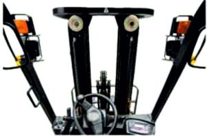 Elektrický vysokozdvižný vozík_ergonómia